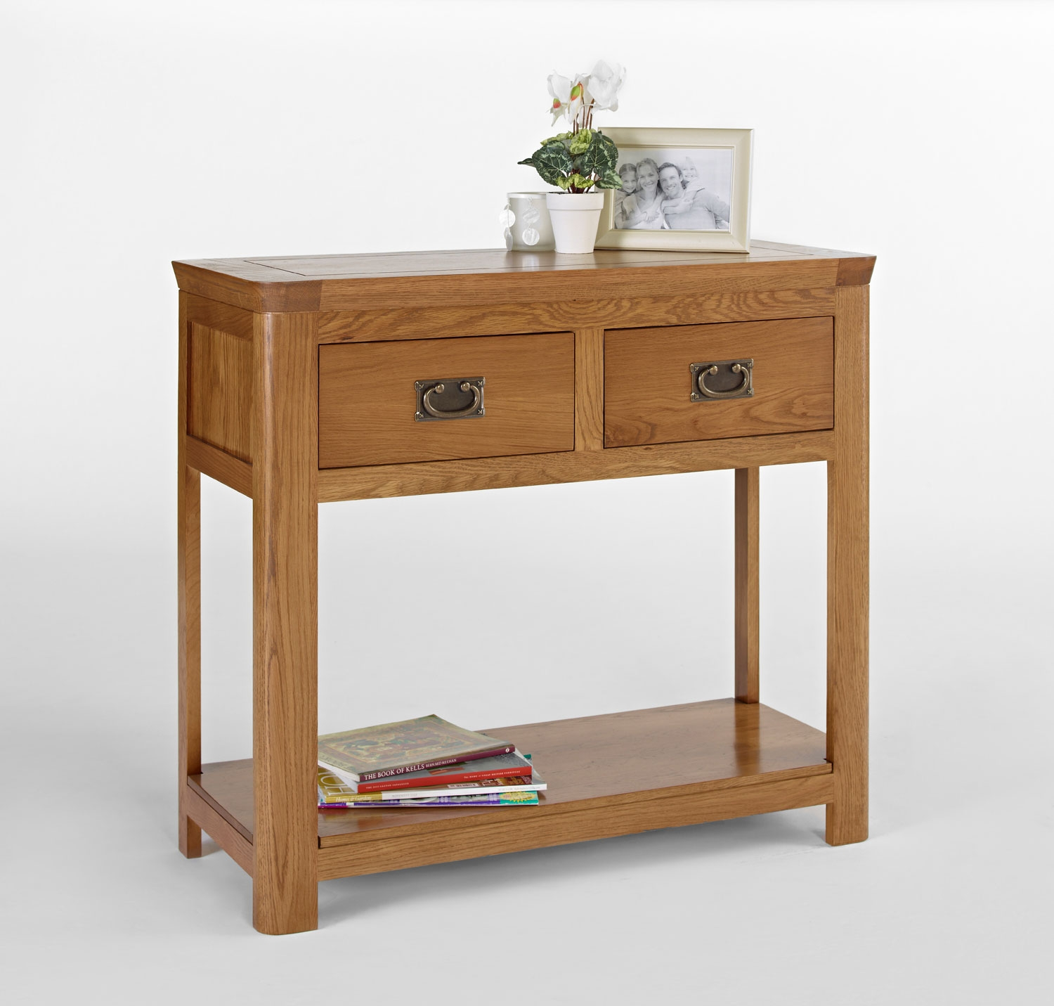 Living room furniture cw furniture knightsbridge oak console table geotapseo Images