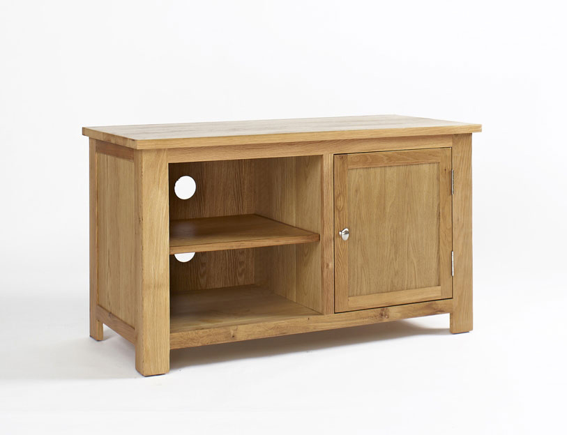 Lansdown Oak Tv Stand With 1 Door Cw Furniture