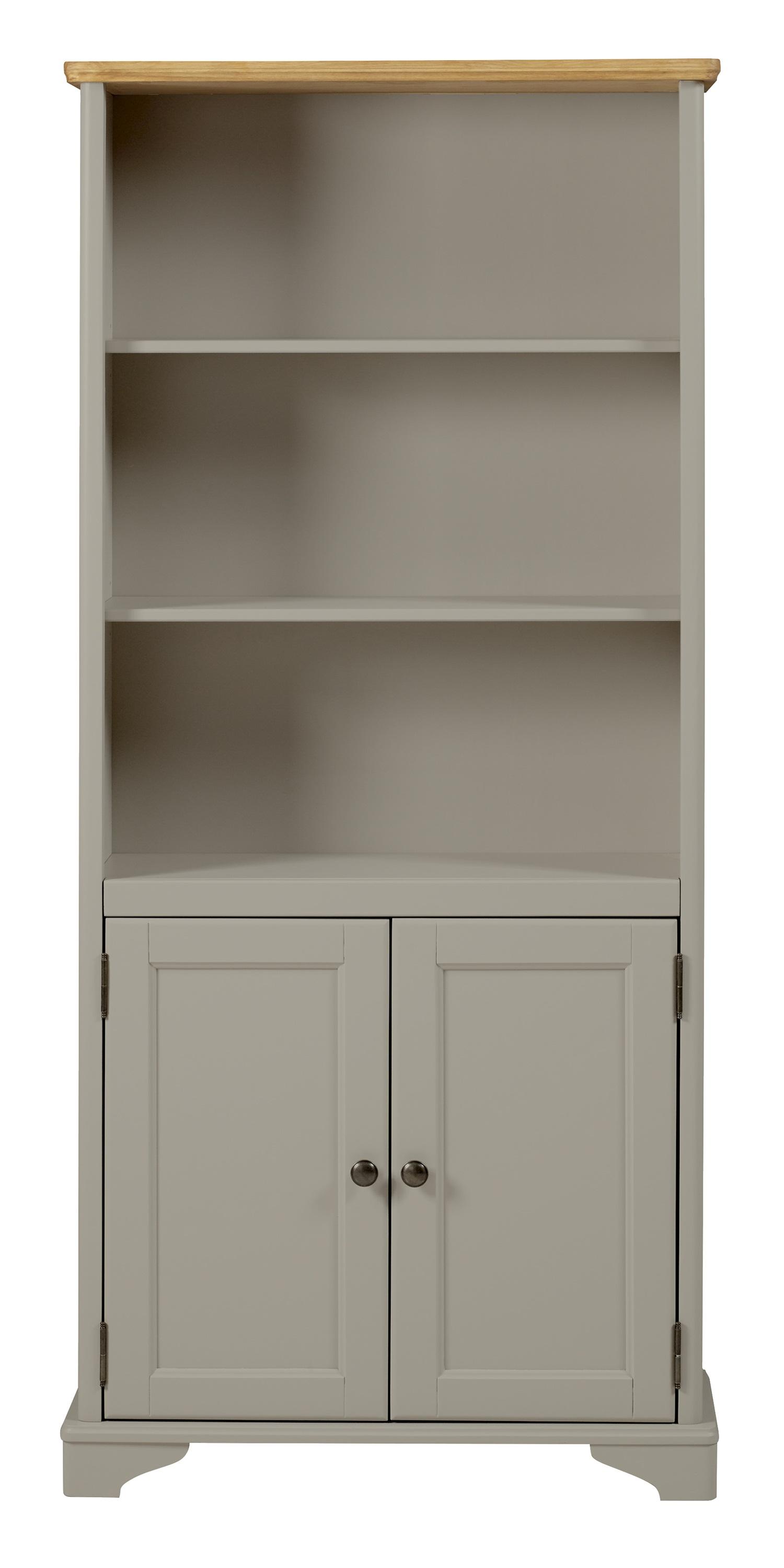 2 door tall bookcase