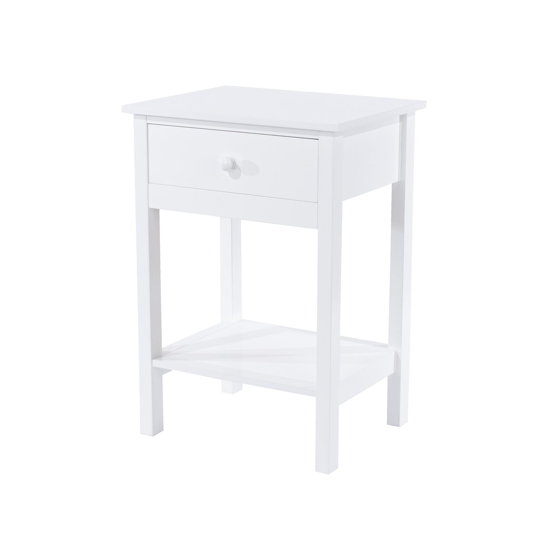 shaker, 1 drawer bedside cabinet