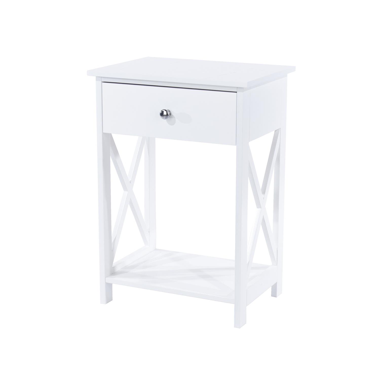 vermont, 1 drawer bedside cabinet