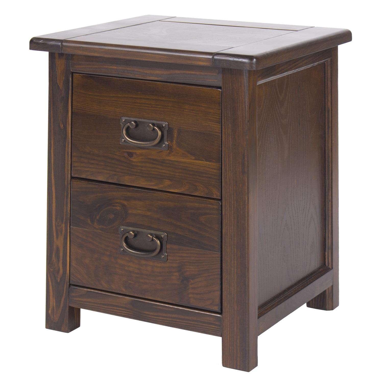 2 drawer bedside cabinet