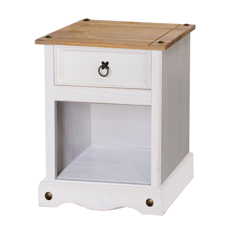 1 drawer bedside cabinet (non dovetail drawer)