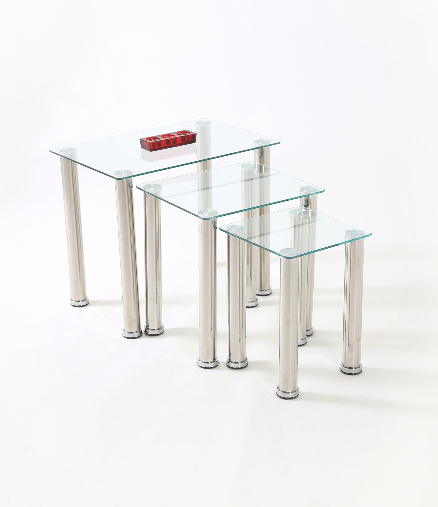 Crystal Nest of Table Clear