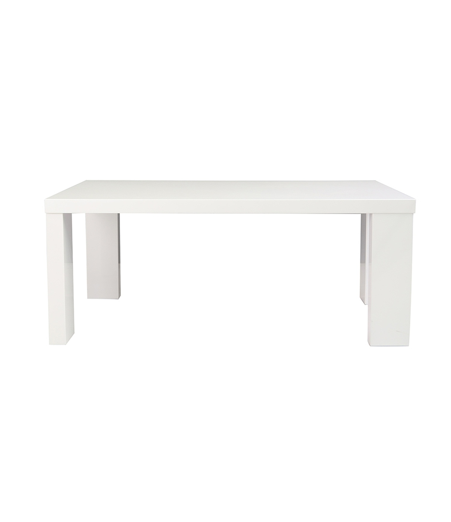 Miami White Coffee Table