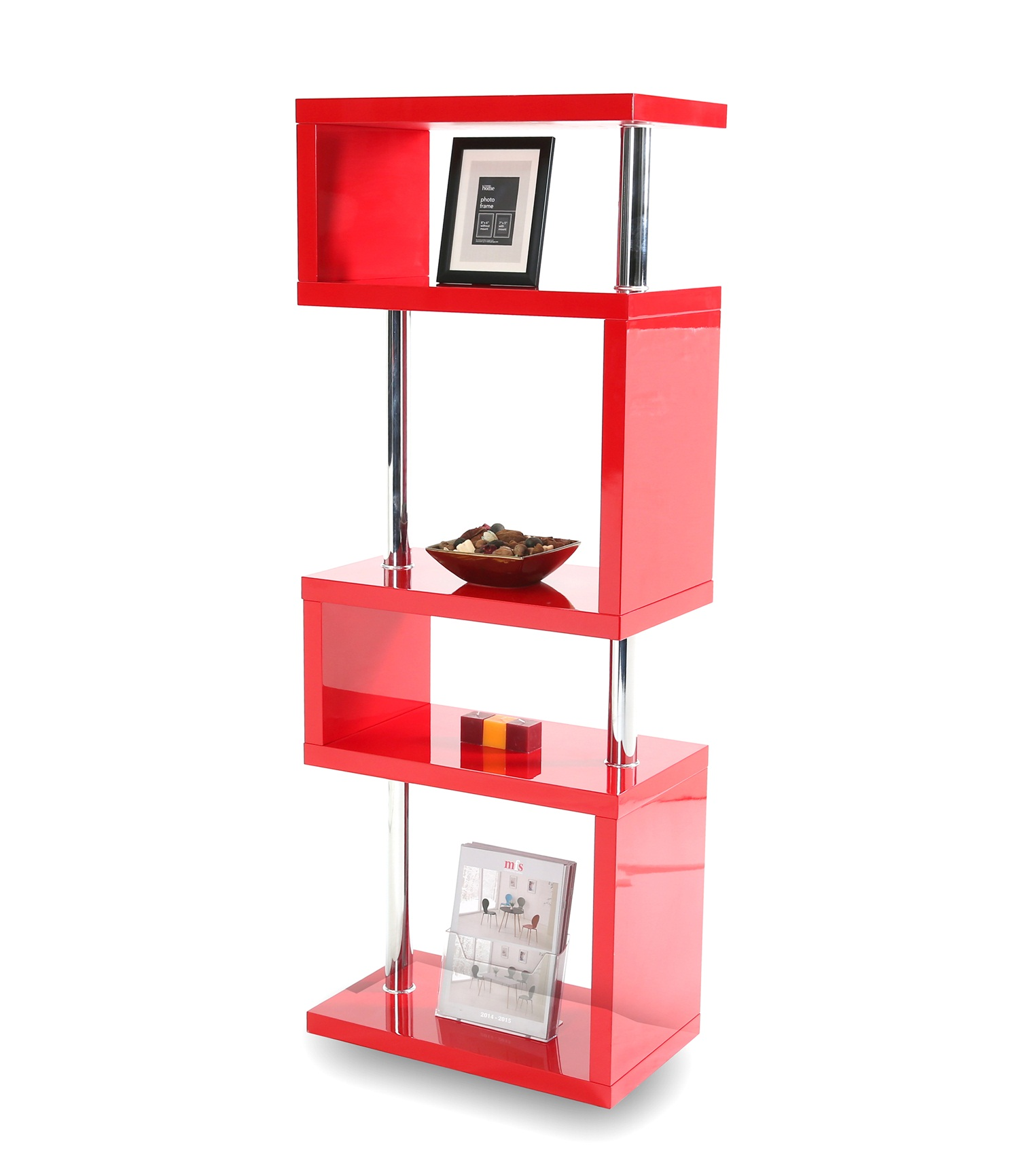 Miami 5 Tier Red