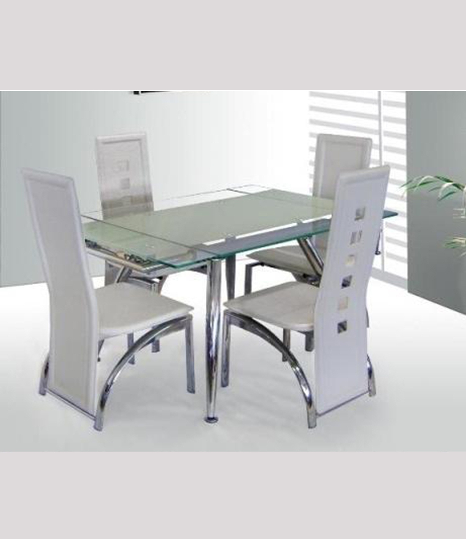Micha (125cm) Dining Table White