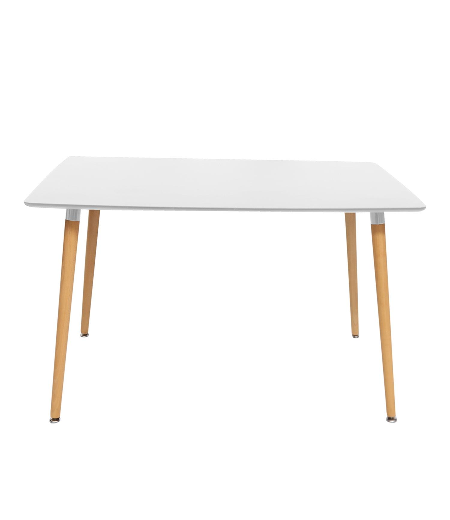 Naples (120cm) Dining Table White