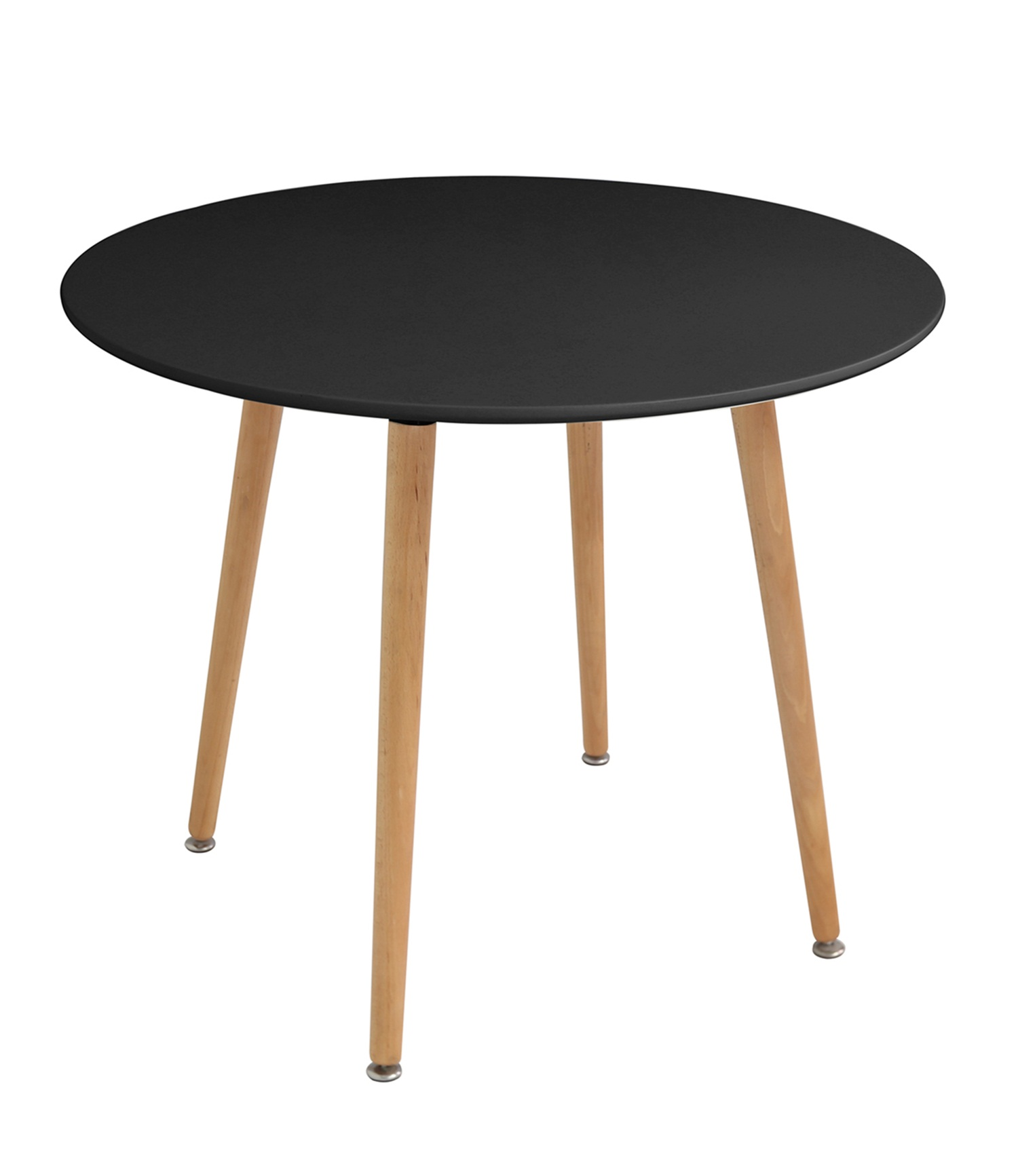 Naples (90cm) Dining Table Black