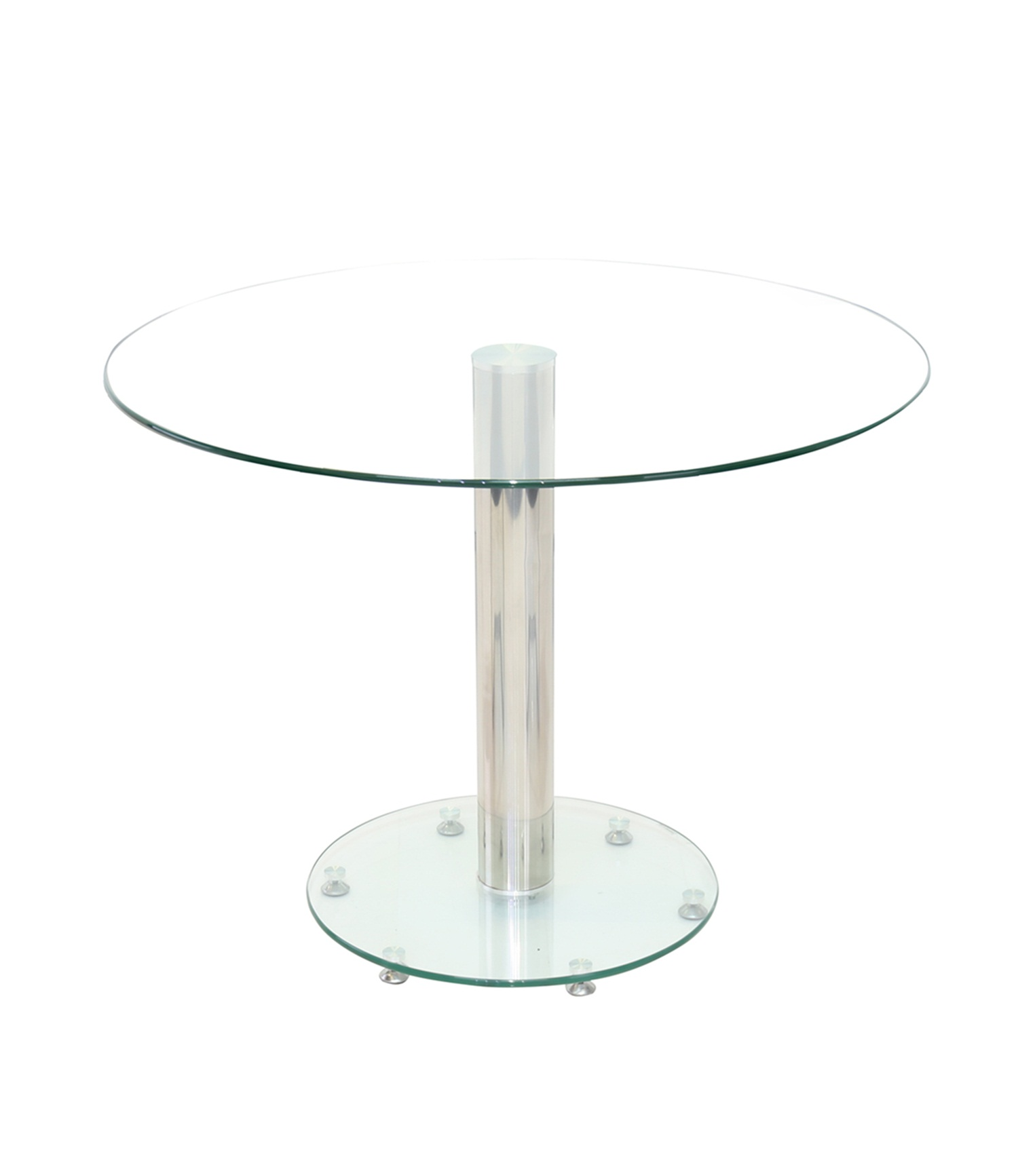 Parma (100cm) Dining Table Clear