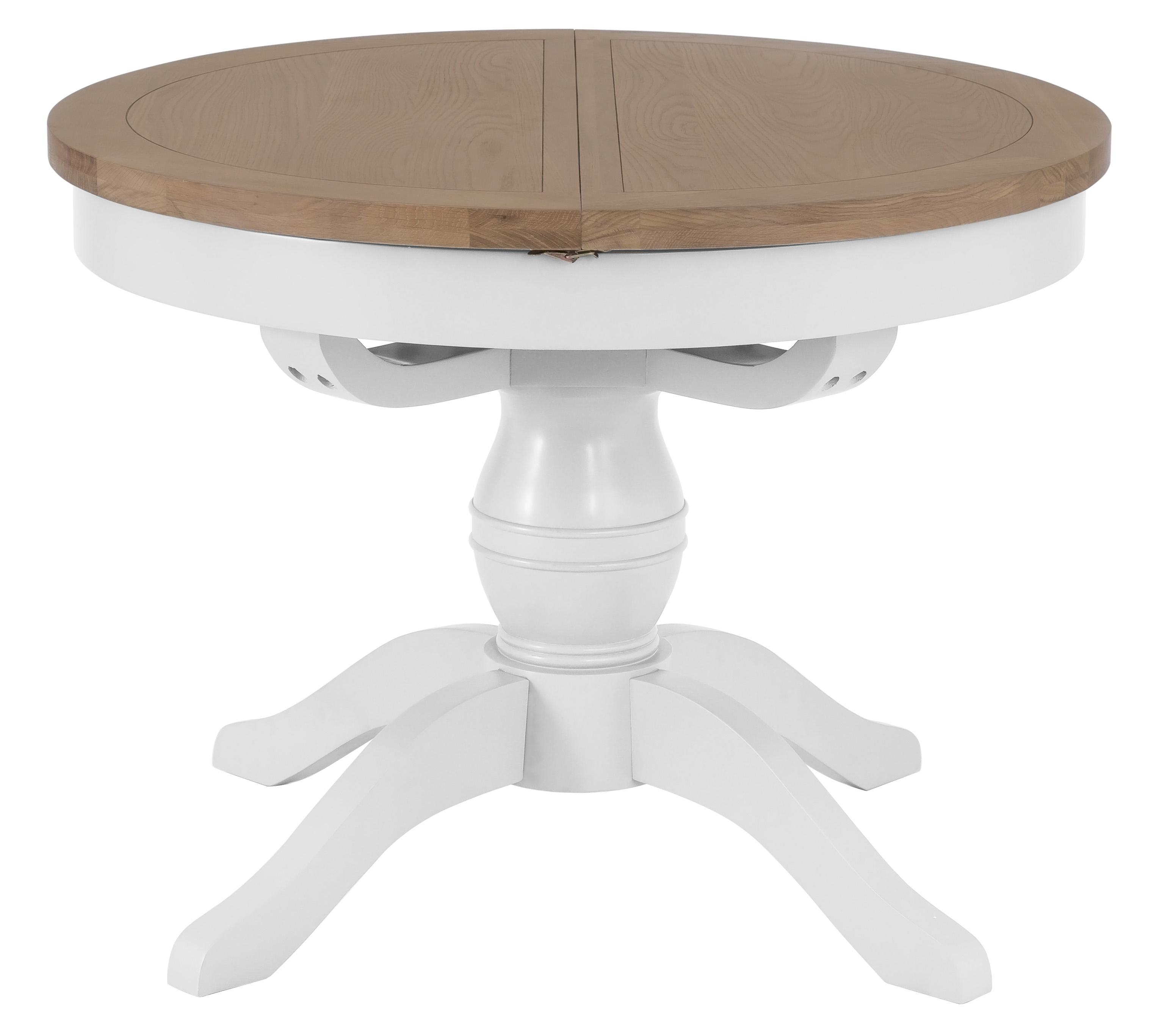 Round Butterfly Extending Table